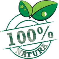 100% in the nature